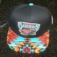 Vancouver Grizzlies Memphis Snapback Hat Cap Mitchell and Ness New Dope rare 40 oz versace