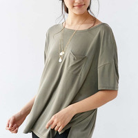 Silence + Noise Freya Pocket Tee - Urban Outfitters