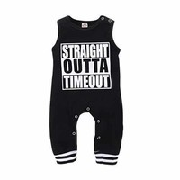 Baby Boy Summer Jumpsuit For 0-24M