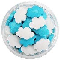 Blue & White Cloud Candy Sprinkles