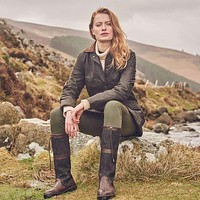 Women's Baltray Waxed Cotton Jacket by Dubarry of Ireland