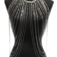 Body Chain Necklace Style 1