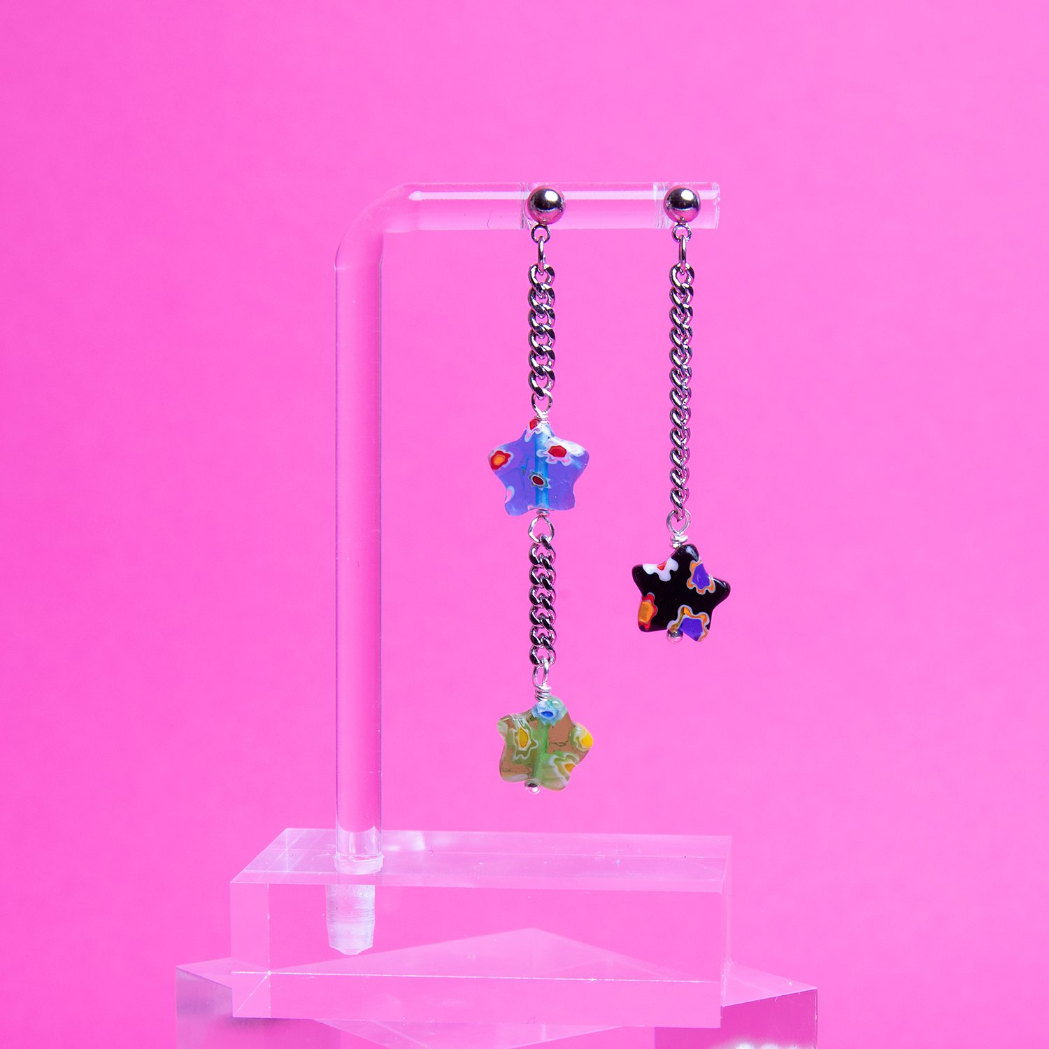 Image of Mismatch Star Earring