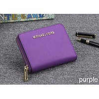Michael kors classic counter models women's fashion high quality clutch F-OM-NBPF Purple