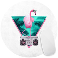 Flamingo Mouse Pad Decal