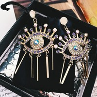 Earrings Strong Character Metal Pendant [16108224532]
