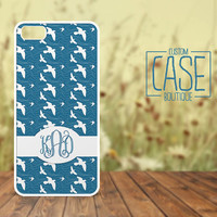 Personalized iPhone 4 / 4s or iPhone 5 Case - Plastic iPhone case - Rubber iPhone case - Monogram iPhone case - CB006