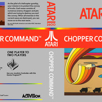 Chopper Command - Atari 2600 VCS (Ugly Game Only)