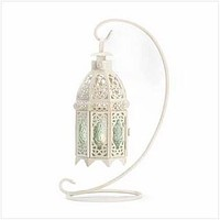 Lantern Candle Holder White Fancy Candle Lantern With Stand