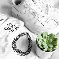 Women Men NIKE Running Sport Casual Shoes Sneakers Low help shoes Air force White shoes