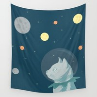 Dreaming about the Space Wall Tapestry by Illusorium