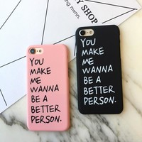 Letter Case for iPhone