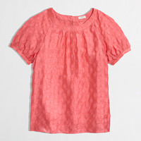 FACTORY JACQUARD TOP IN DOT