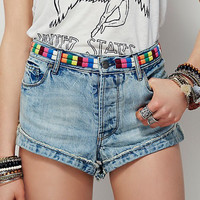 Elliot Embroidered Shorts