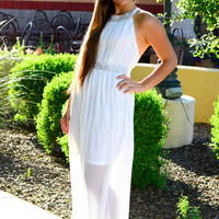 LOVE ME LIKE YOU DO DRESS IN WHITE