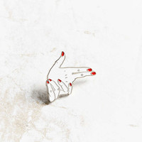 VERAMEAT Hands Pin - Urban Outfitters