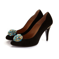 Crystal Shoe Clips   Cleo B   Wolf & Badger