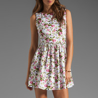 JARLO Selena Floral Dress in White from REVOLVEclothing.com
