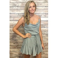 Sing Along Dress- Sage