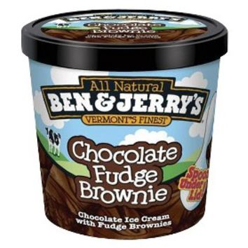 Ben & Jerry's Chocolate Fudge Brownie Ice Cream 3.6oz