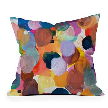 Kent Youngstrom pallet Throw Pillow