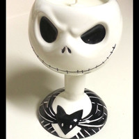 Jack Skellington Goblet Candle - Nightmare Before Christmas - CHOICE OF SCENT