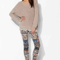 Truly Madly Deeply Talia Boho Floral Legging- Blue Multi