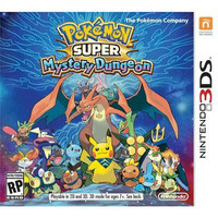 Pokemon Super Mystery Dungeon 3DS Video Game