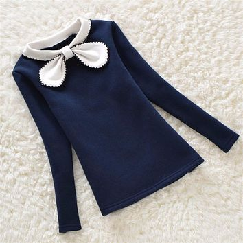 Spring Autumn Kids Girl Sweater Sweaters Children Cotton Cardigan Baby Outerwear Girls Knitwear Clothes
