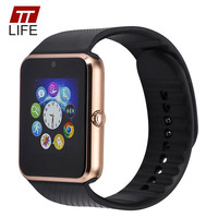 TTLIFE SIM TF Card Smart Watch Phone Voice Recorder Smart Watches Stereo Bass Bluetooth Music Play Clock For Apple Android Phone