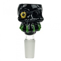 Glass-on-Glass Skull Bowl | 14.5 mm | Grasscity