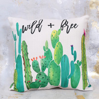 Altar'd State Wild and Free Pillow - Gifts/Home Decor