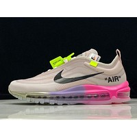 OFF-WHITE X Nike Air Max 97 OW AJ4585-600