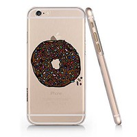 Amazon.com: Donut Slim Iphone 6 Plus Case, Clear Iphone Hard Cover Case For Apple Iphone 6 Plus-Emerishop (AH1072): Cell Phones & Accessories