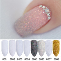 Holographic Nail Glitter Acrylic Powder-8 Colors