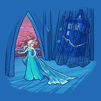 Frozen in Time and Space Art Print by Karen Hallion Illustrations