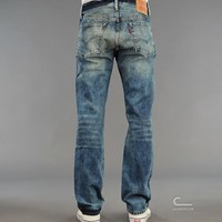 Levis Vintage Clothing 1954 501 Jeans Kromer 50154-0029 hos C-Store Caliroots - The Californian Twist of Lifestyle and Culture