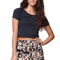 LA Hearts Challis Swing Skirt - Womens Skirt - Floral