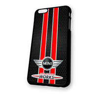 JOHN Mini COOPER WORKS logo iPhone 6 Plus case