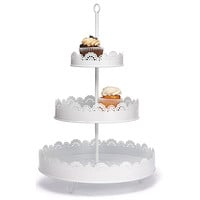 Metal 3-Tier Dessert Stand at The Knot Wedding Shop