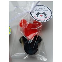 Mickey Bridal Shower - Birthday Party Favors Custom Color and Fragrance with Option for Bags Ribbons & Personalized Tags - Pack of 10