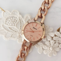Rose Bracelet Watch