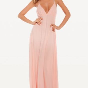 PINK BOW MARILYN DRESS