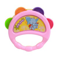 1pcs Baby Rattles Hand Bell Toy Cartoon Colorful Develop Baby Intelligence Grasping toy Gift For Children Baby 0-12 Months