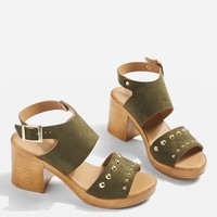 DICE Studded Mid Sandals - Shoes