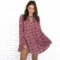 Sweet Like Candy Print Shift Dress