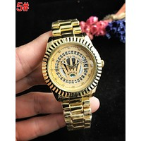 Rolex Popular Women Men Business Movement Watches Lovers Wristwatch 5#