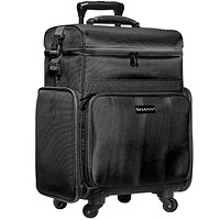 Soft Rolling Makeup Trolley Case