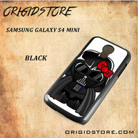 Anakin Skywalker Darth Vader Hello Kitty Star Wars Black White Snap On 3D For Samsung Galaxy S4 Mini Case