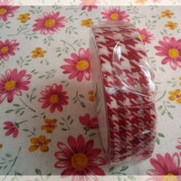 MT tape, 3 styles red washi tape